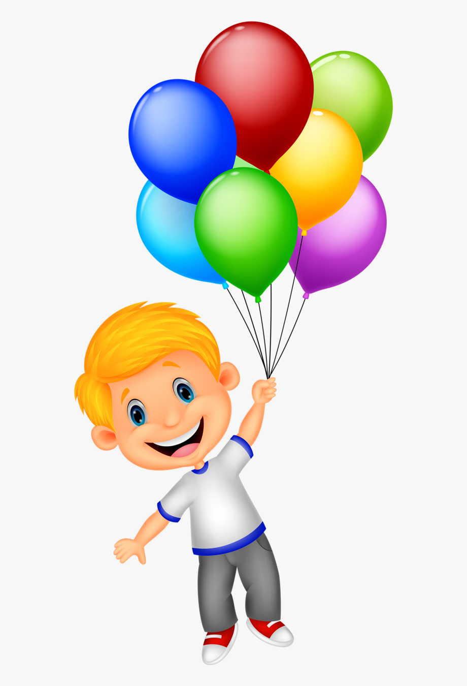 Animated clipart balloons free jpg transparent 1 - Girl Holding Balloons Clipart , Transparent Cartoon, Free ... jpg transparent