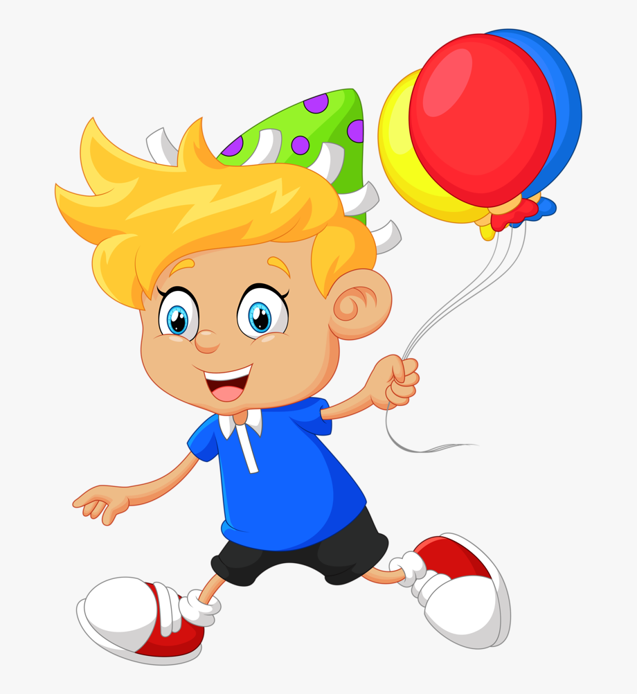 Animated clipart balloons free picture transparent stock Animated Birthday Clipart - Boy With Balloon Clipart #459455 - Free ... picture transparent stock