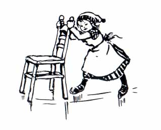Animated clipart black woman dragging a chair png library library A Day on Skates, The Story of a Dutch Picnic. png library library