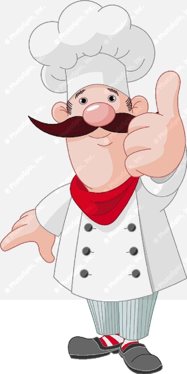 Animated clipart chef clipart black and white download 17 Best images about Cartoon CHEFS..... on Pinterest | Chef ... clipart black and white download