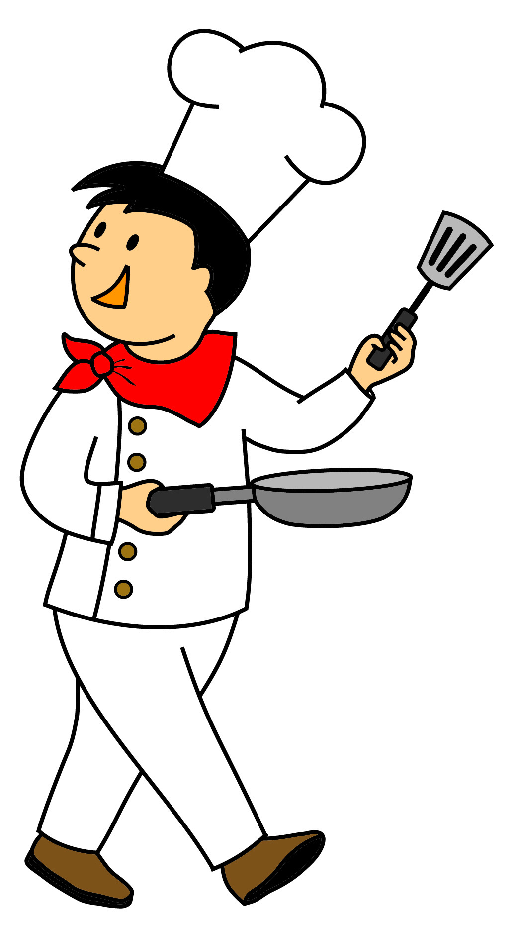 Animated clipart chef svg download Animated clipart for free chef - ClipartFest svg download