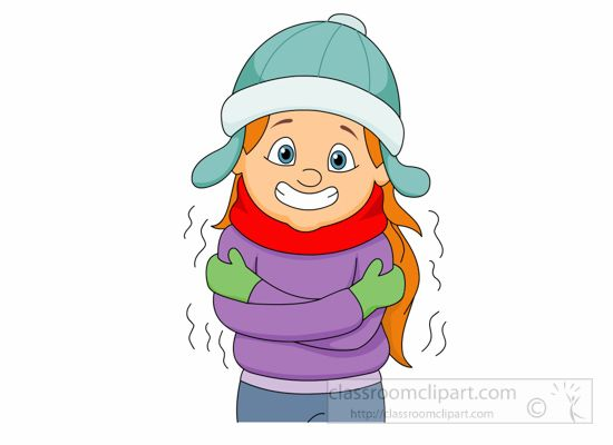 Animated clipart cold banner royalty free Freezing Cold Cartoon Woman | Use these free images for your ... banner royalty free