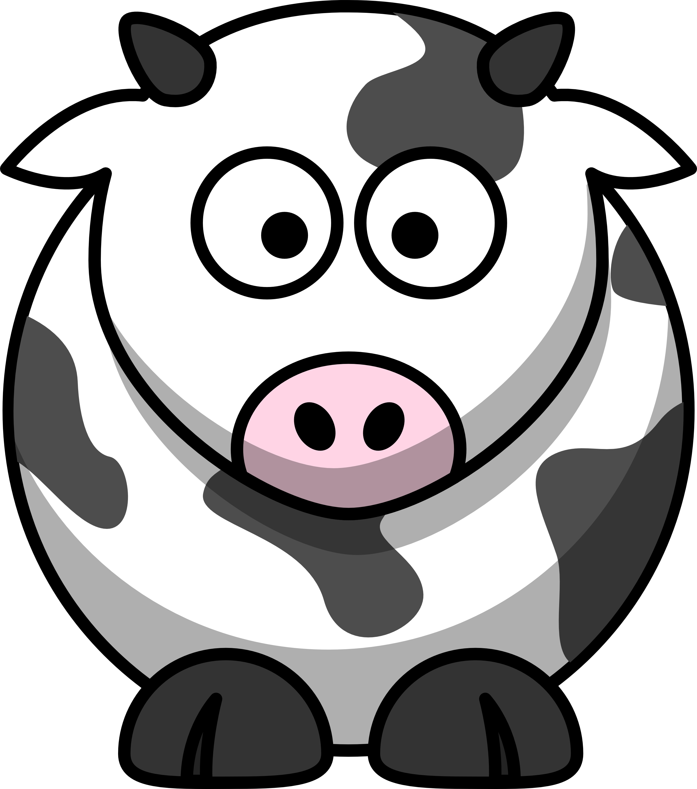 Clipart cow face png transparent download Free Cow Images Free, Download Free Clip Art, Free Clip Art on ... png transparent download