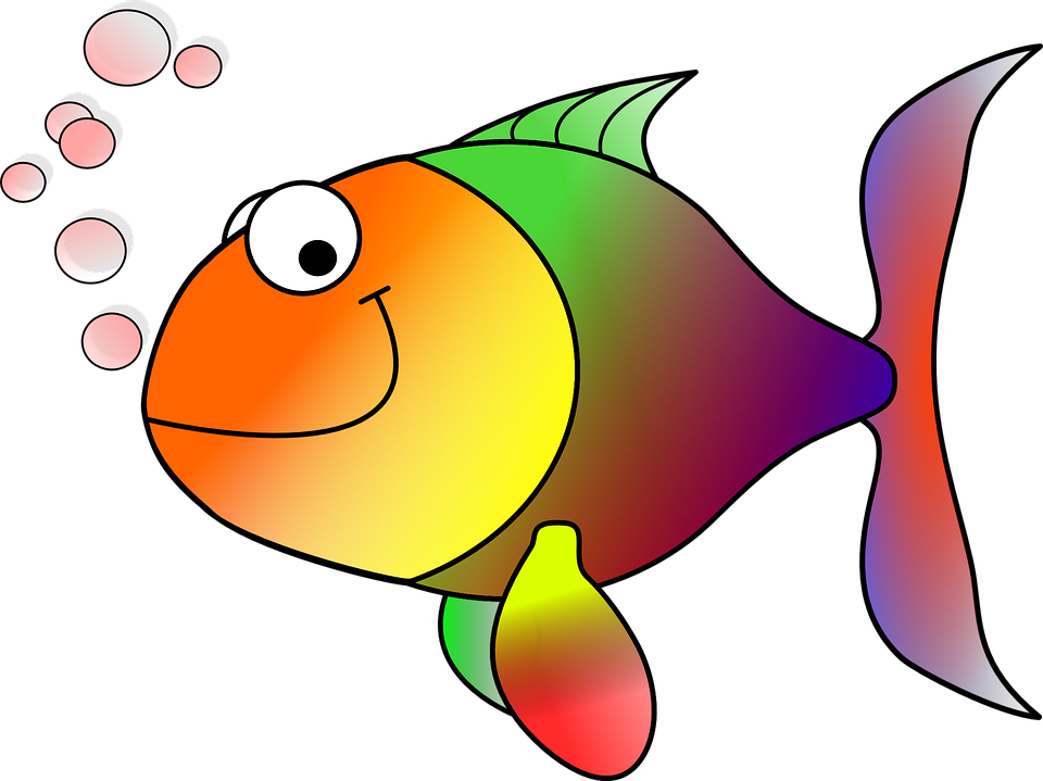 Fish splash clipart banner black and white download Pictures Of Animated Fish (55+) Desktop Backgrounds banner black and white download