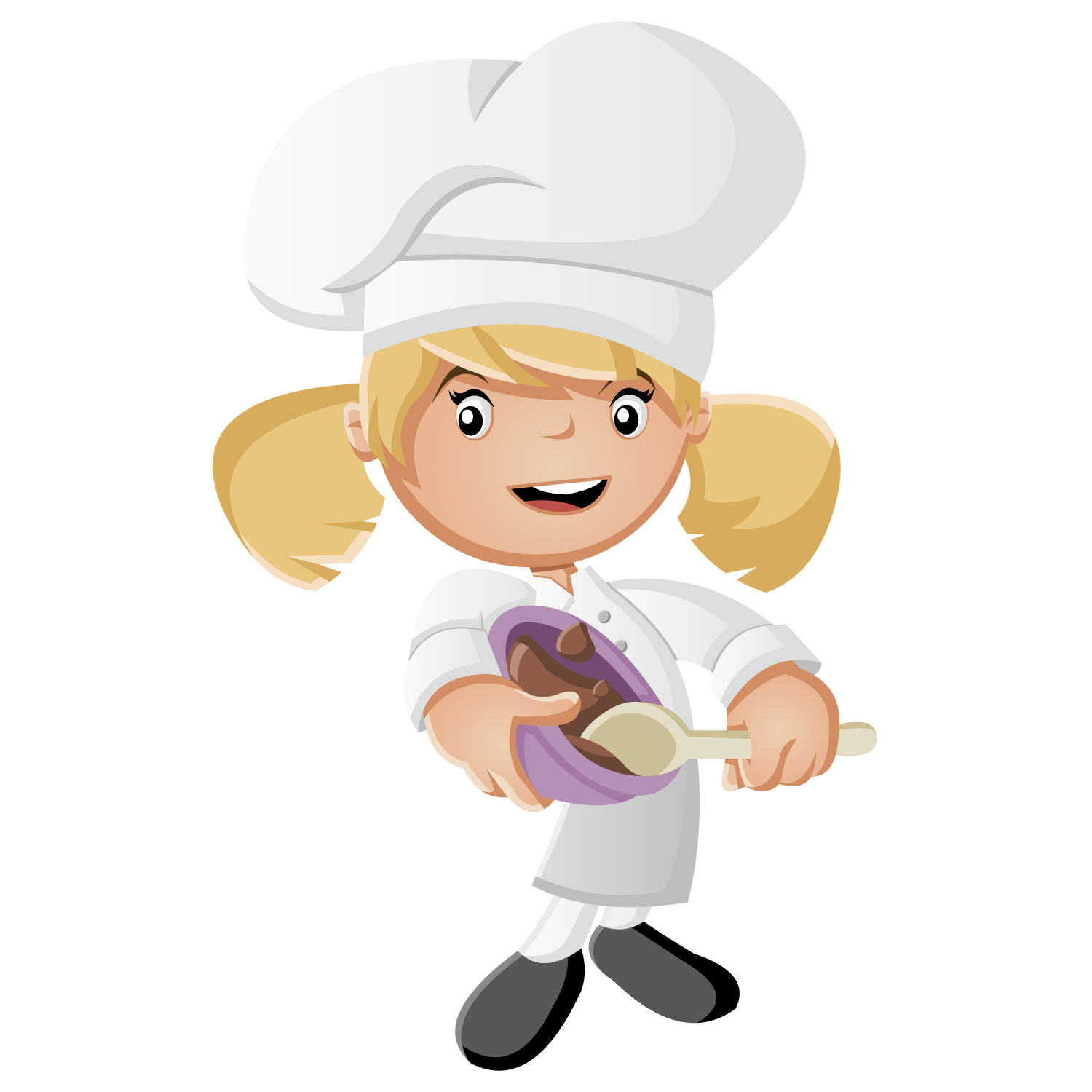 Animated clipart for free chef