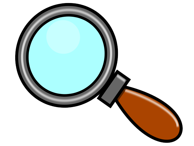 Animated clipart magnifying glass clipart black and white stock Free Detective With Magnifying Glass Clipart, Download Free Clip Art ... clipart black and white stock
