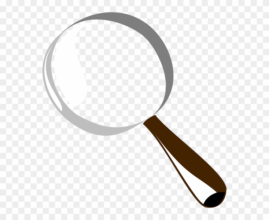 Animated clipart magnifying glass