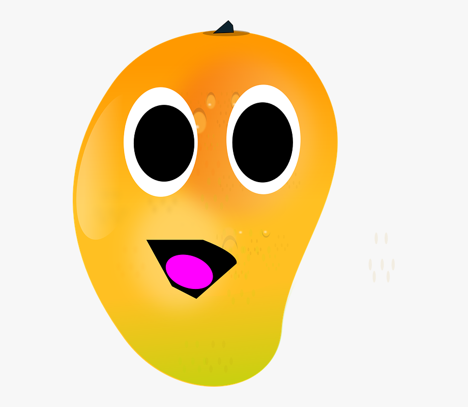 Animated clipart mango png free library Clip Art Mango With Eyes , Transparent Cartoon, Free Cliparts ... png free library
