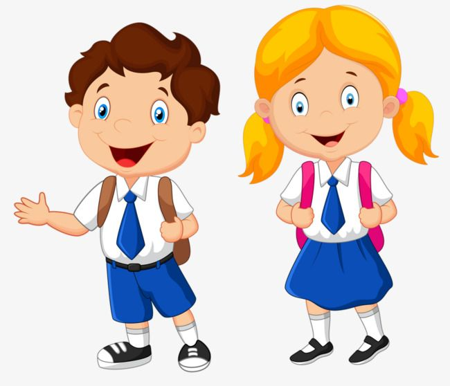 Clipart of a girl going to school clipart freeuse stock School Children, Children, Clipart, School PNG Transparent Clipart ... clipart freeuse stock