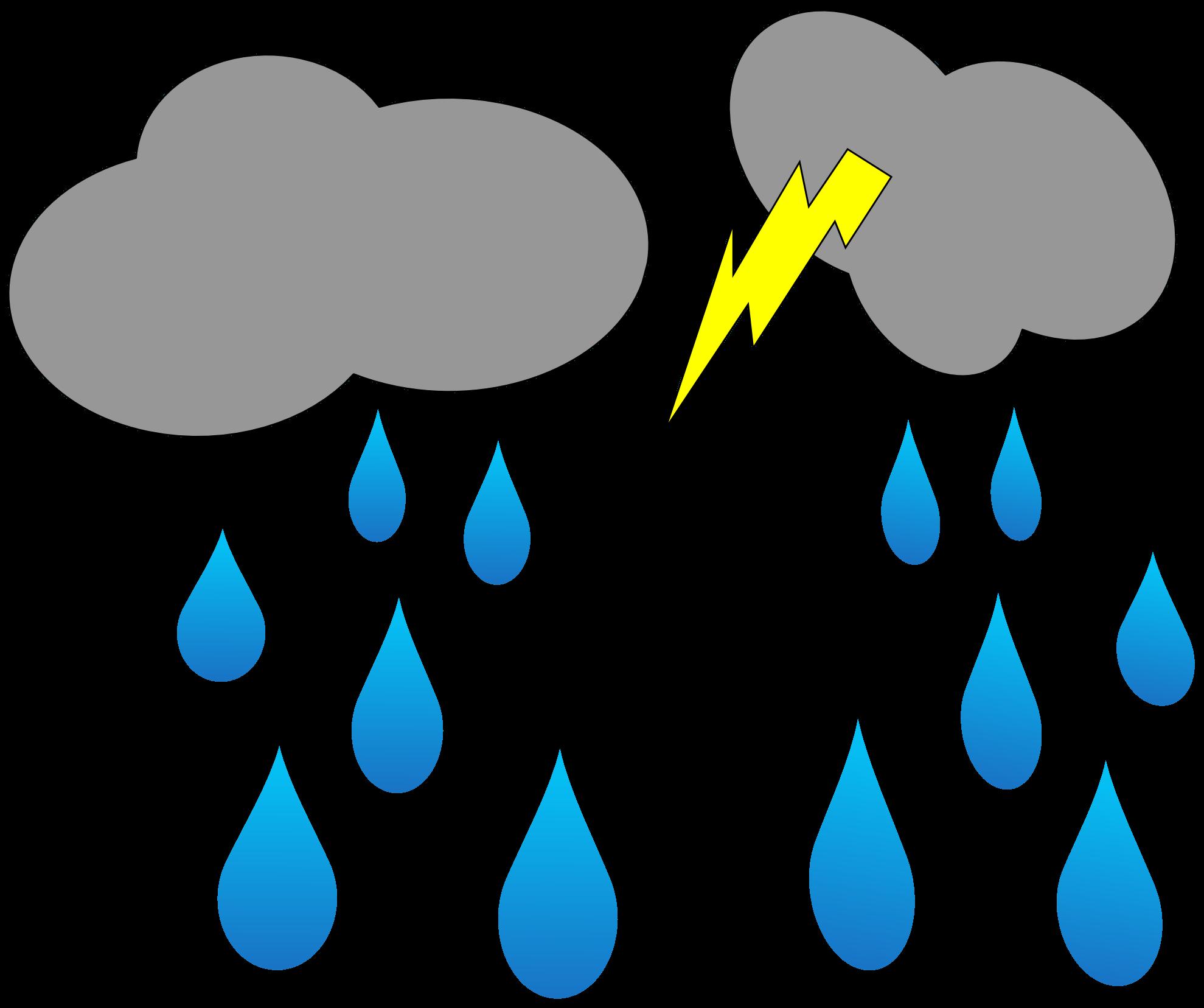 Animated clipart rain