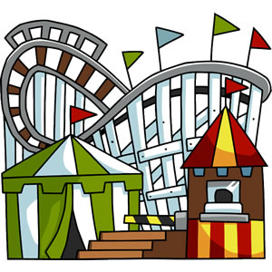 Animated clipart roller coasters jpg royalty free stock Cartoon Roller Coaster Clipart | Free download best Cartoon Roller ... jpg royalty free stock