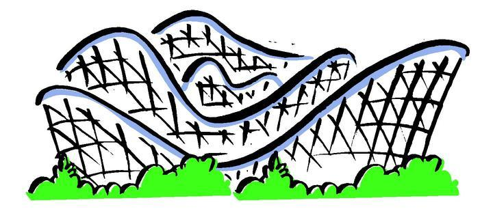 Animated clipart roller coasters jpg black and white Roller coaster animated clipart » Clipart Portal jpg black and white