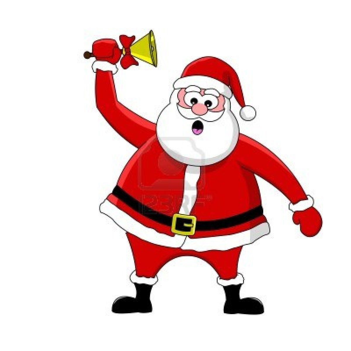 Animated father christmas clipart