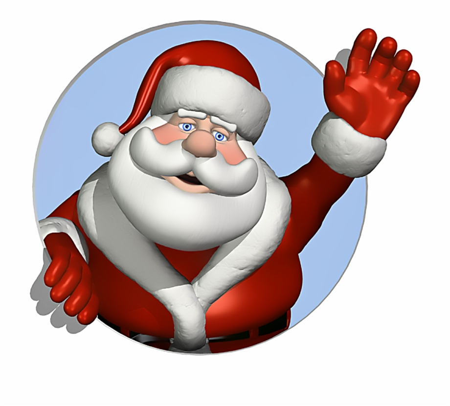 Animated clipart santa claus banner black and white download Santa Claus Png Transparent Image - Gif Animation Santa Claus Free ... banner black and white download