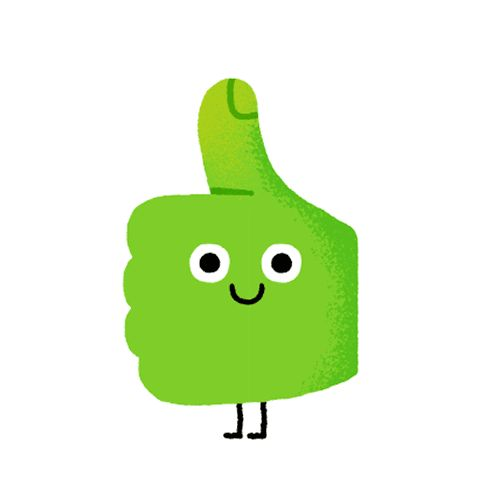Mauro gatti gif cleanses. Animated clipart thumbs up