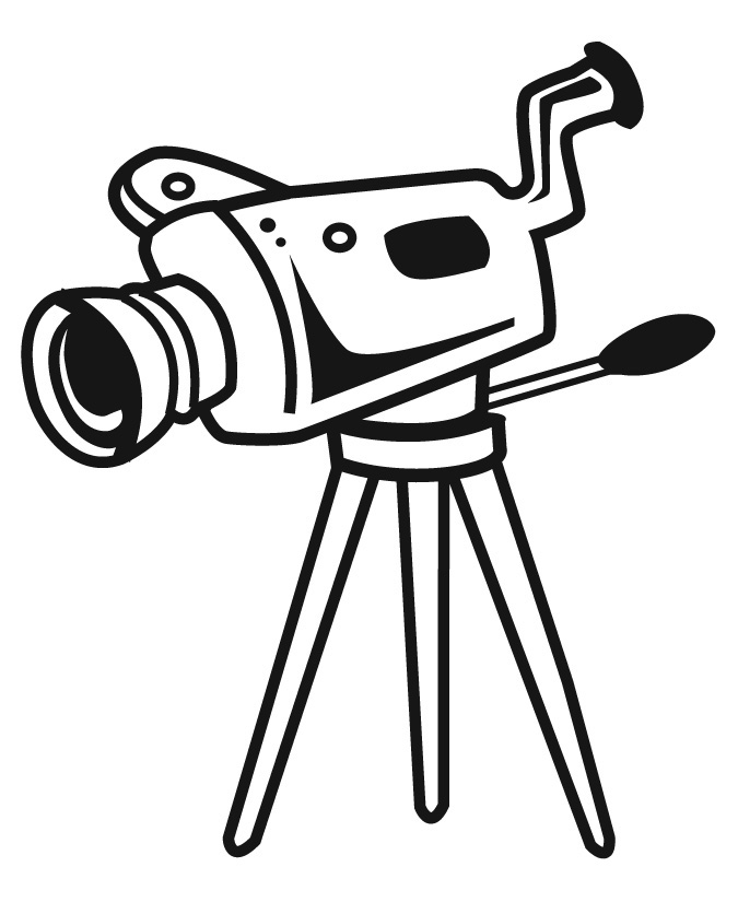 Animated clipart video clip library library Animated video camera clipart - Clip Art Library clip library library