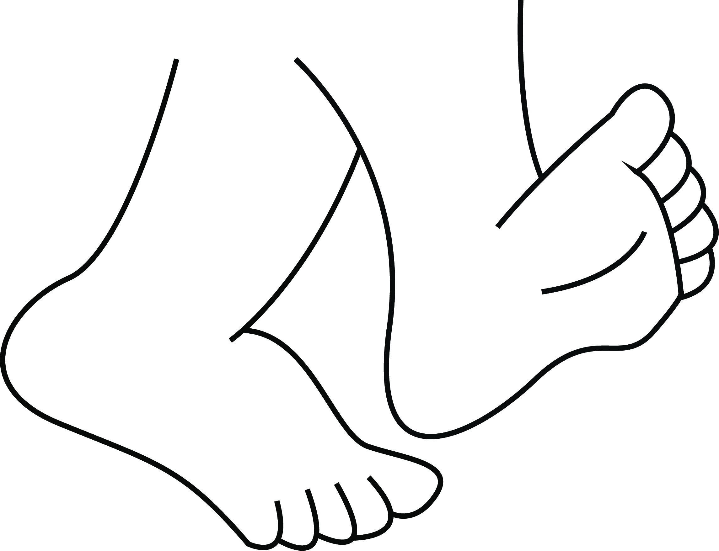 Feet with shoes clipart black and white clipart free download Cartoon walking feet clipart 2 clip art library - ClipartPost clipart free download