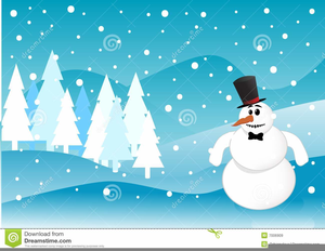 Animated clipart winter vector free library Animated Winter Scene Clipart | Free Images at Clker.com - vector ... vector free library