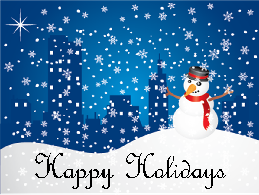 Free animated clipart happy holidays
