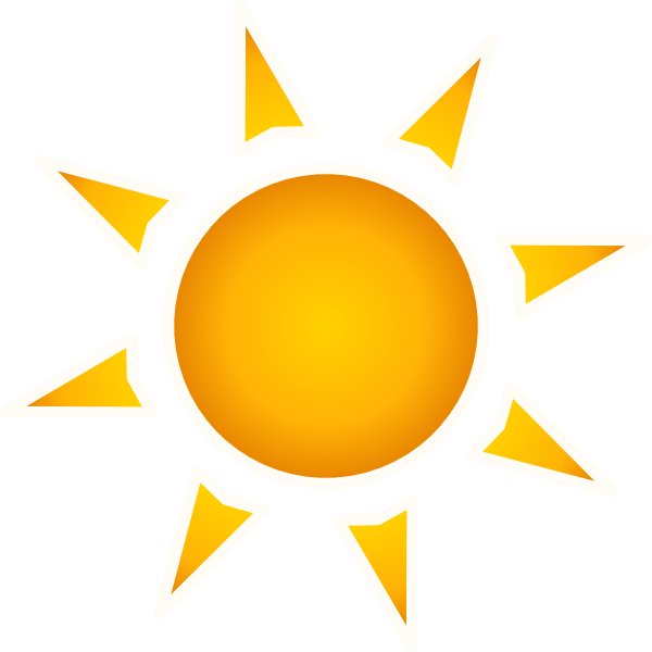 Sun setting clipart clipart royalty free stock Animated Sun (50+) clipart royalty free stock