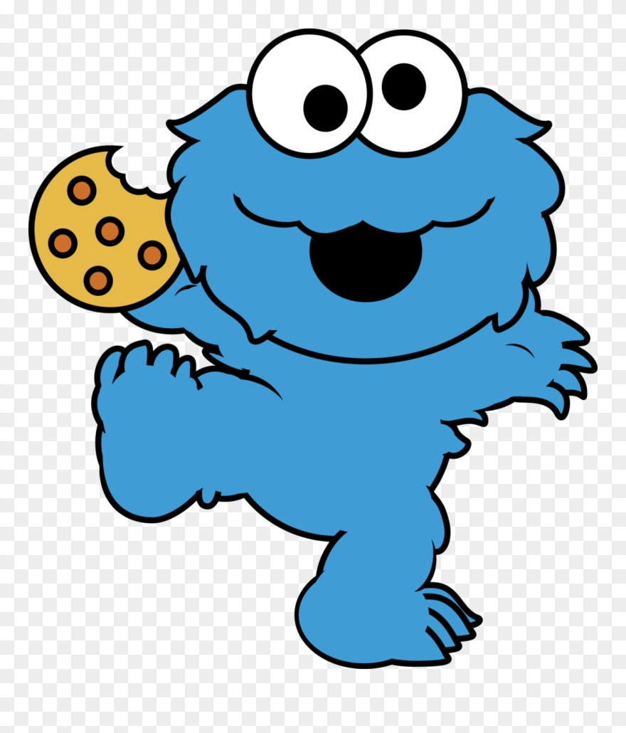 Animated cookies clipart jpg library stock Eating Cookies Cliparts - Cute Cookie Monster Cartoon - Png Download ... jpg library stock