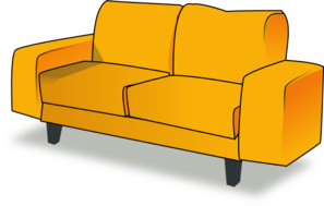 Animated couch clipart