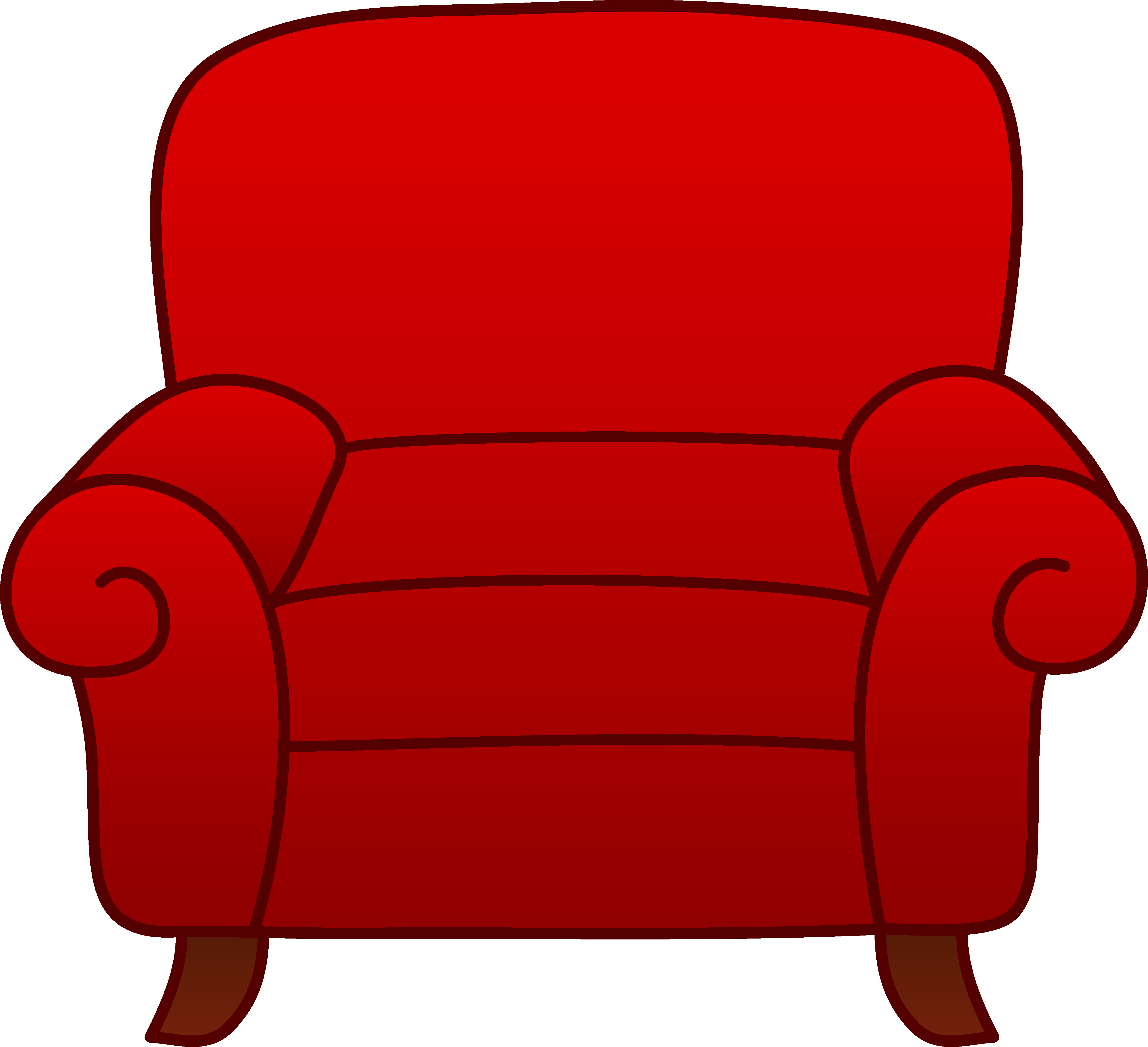 Arm chair clipart