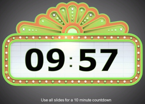 Awesome powerpoint templates timer. Animated countdown clipart