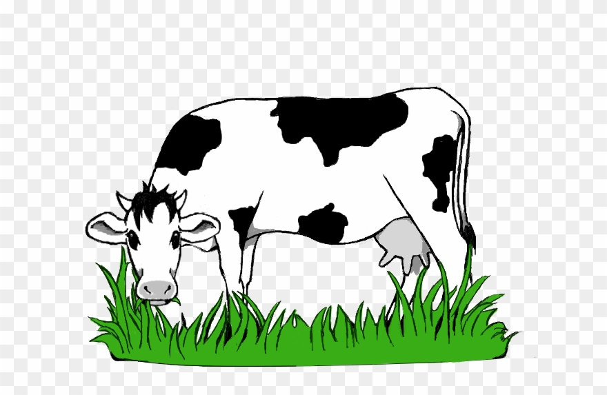 Animated cow eating grass clipart picture royalty free Black And White Stock Collection Of Grazing High Quality - Cow ... picture royalty free