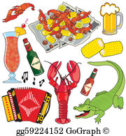 Crawfish border clipart svg royalty free Crawfish Clip Art - Royalty Free - GoGraph svg royalty free