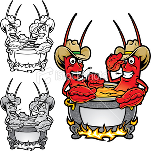 Animated crawfish boil clipart banner transparent download Crawfish Flyer   Free Images at Clker.com - vector clip art online ... banner transparent download