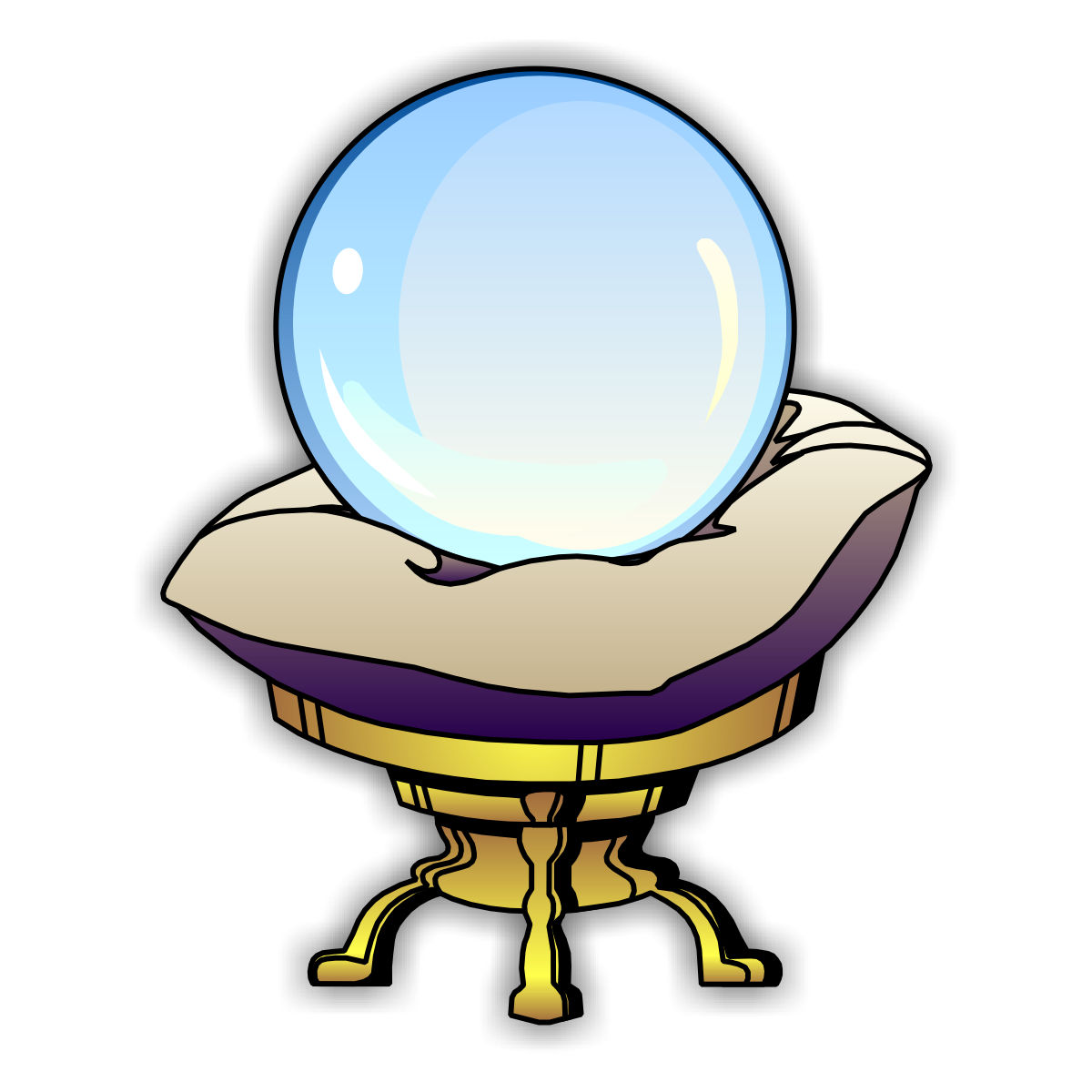 Animated crystal ball clipart clip black and white stock Free Crystal Ball Clipart, Download Free Clip Art, Free Clip Art on ... clip black and white stock
