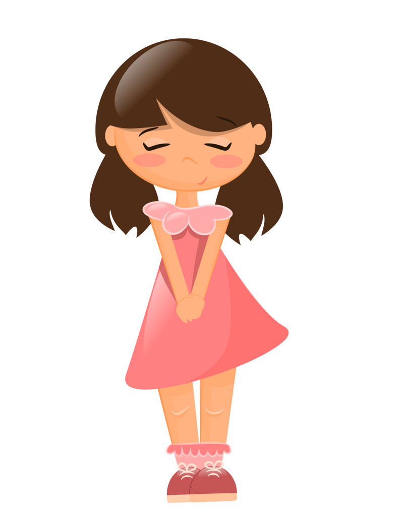 Animated cute girl characters clipart image Cute Little Girl Cartoon Image - Clip Art Library image