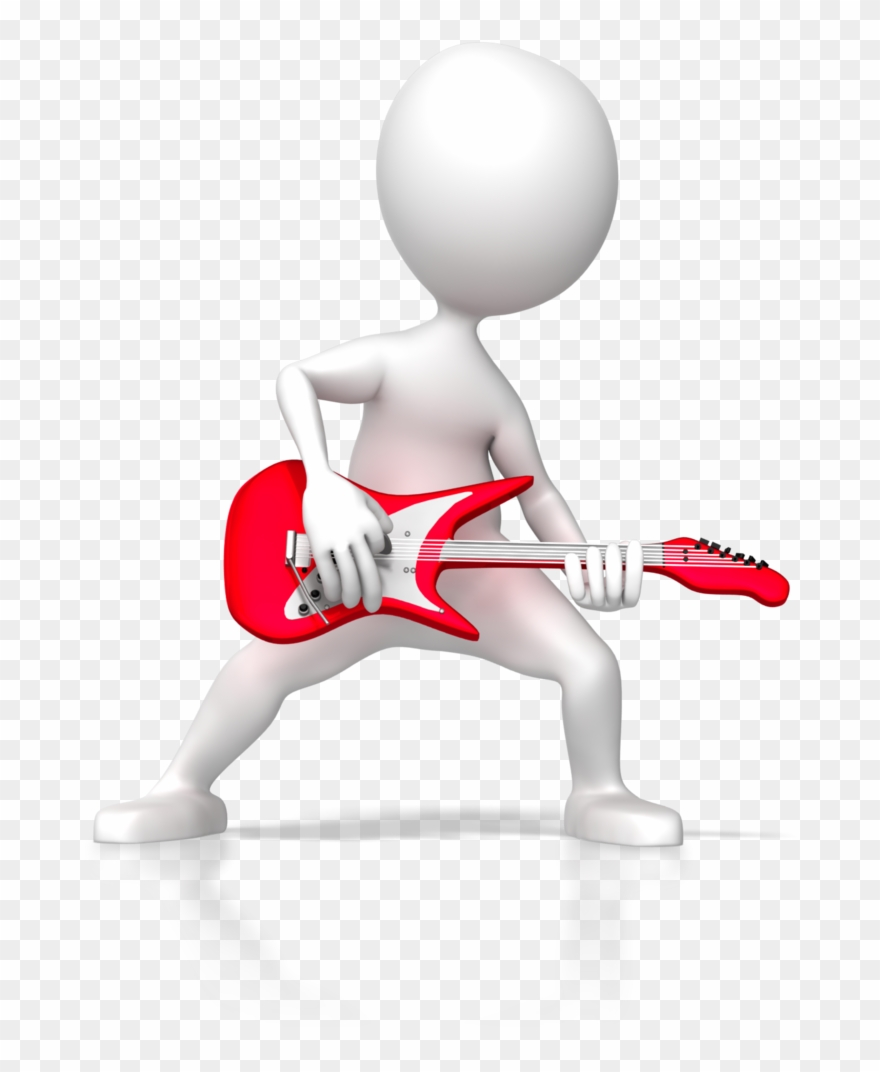 Animated dancing figures clipart clipart library library Stick Figure Rock Guitar 6255 - 3d Presentation Animated Figures ... clipart library library