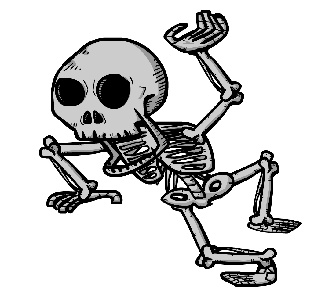 Animated dancing skeleton clipart png black and white download Free Animated Skeleton Pictures, Download Free Clip Art, Free Clip ... png black and white download