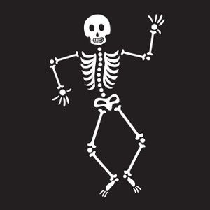 Animated dancing skeleton clipart clipart free Dancing skeleton clip art | Design Stuff for Hot Stuff Cafe ... clipart free