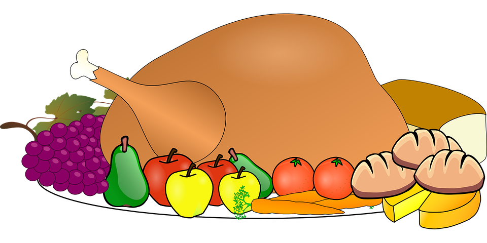Thanksgiving outline clipart png freeuse download Turkey Clipart Thanksgiving Feast Free collection | Download and ... png freeuse download