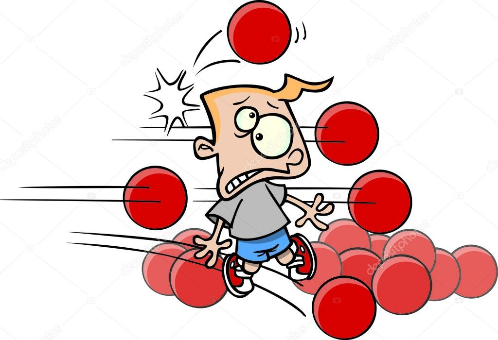 Animated dodgeball clipart