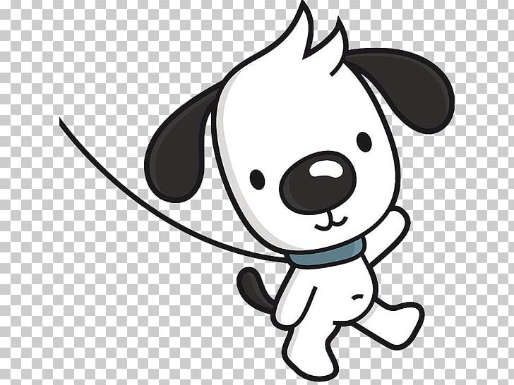 Animated dog walking clipart png library download Dog Walking Cartoon Illustration PNG, Clipart, Black, Carnivoran ... png library download