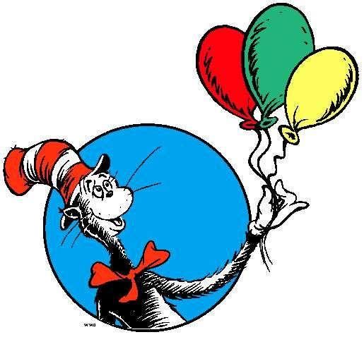 Pin by diana trammell. Free clipart of dr seuss
