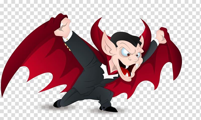 Animated dracula clipart vector free Count Dracula Vampire , Devil cartoon vampire bat transparent ... vector free