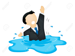 Animated drowning clipart clipart black and white library Cartoon Drowning Clipart | Free Images at Clker.com - vector clip ... clipart black and white library