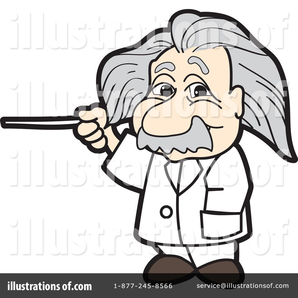 Animated einstein clipart clip art transparent Einstein Clipart #1120144 - Illustration by Toons4Biz clip art transparent