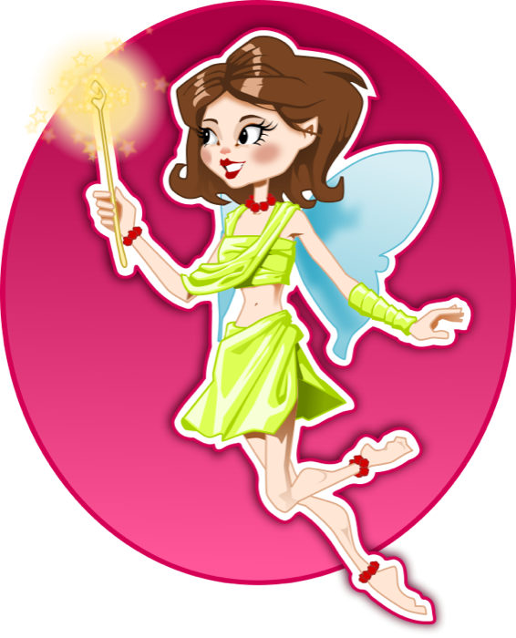 Animated fairy clipart clip art freeuse stock Fairy Clipart - Beautiful Graphics of Fairies, Pixies and Nature Sprites clip art freeuse stock