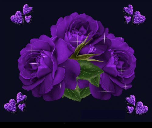 Animated flowers pictures images jpg free library Animated Flowers and | animated gif flowers images glitter 100.gif ... jpg free library