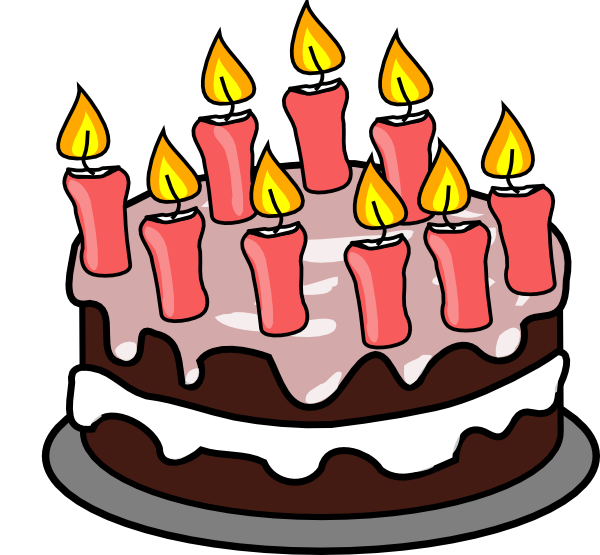 Clip art free birthday cake. Pictures animated