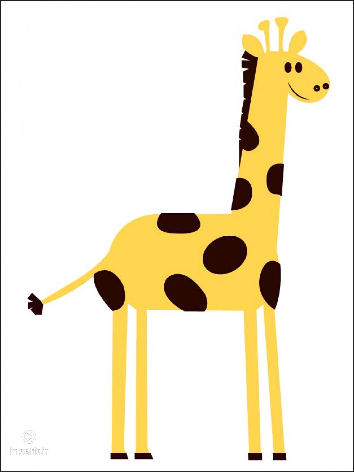 Free giraffe cartoon clipart picture stock Giraffe cartoon clipart free downlaod picture stock