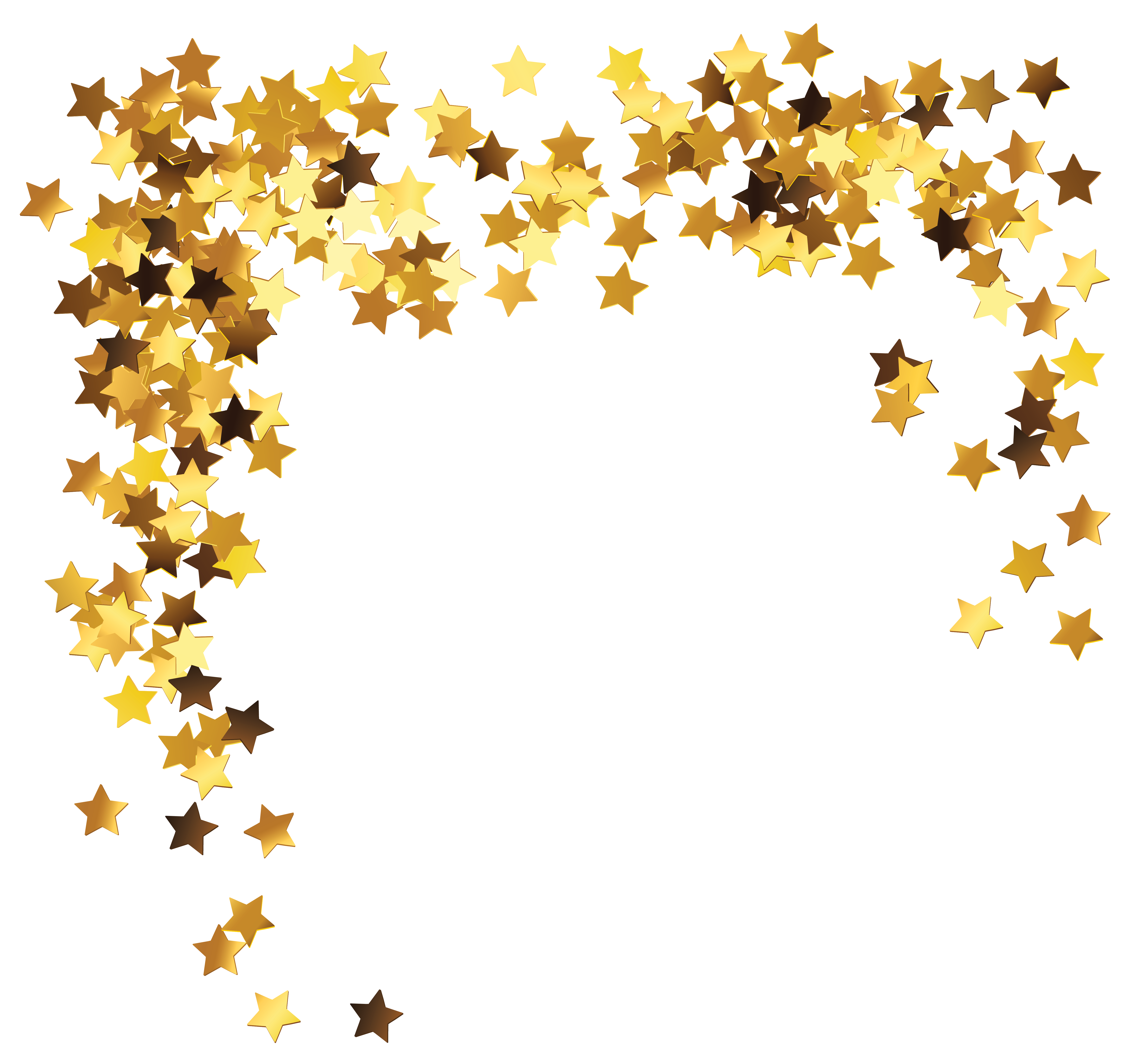 Clipart picture of a star png freeuse stock Gold Stars Decoration PNG Clipart Picture | Gallery Yopriceville ... png freeuse stock