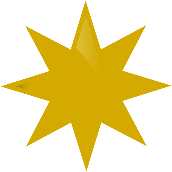 Clipart gold star award svg freeuse download Gold Star Clip Art at Clker.com - vector clip art online, royalty ... svg freeuse download