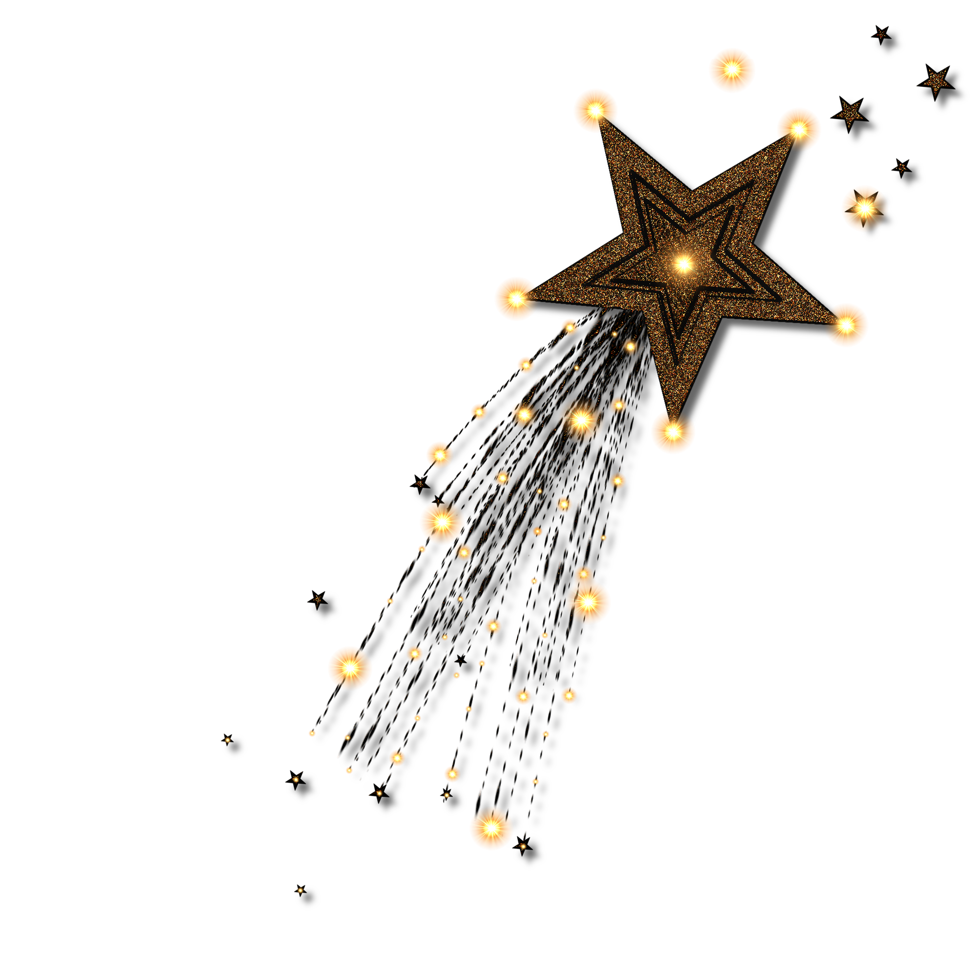 Gold star line clipart clip library stock DeviantArt: More Like Gold Star Clip Art by JSSanDA | THE MOON AND ... clip library stock